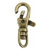 Swivel Clips 40mm Antique Brass Lead Safe